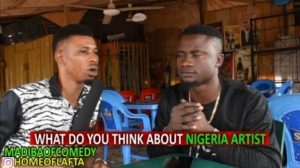 Comedy: Honourable Madiba - What Do you think About Nigerian Artistes